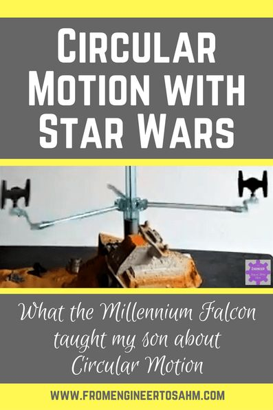 Circular Motion | Circular Motion lesson using my son's Star Wars | Circular Motion Activities