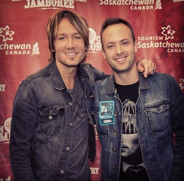Keith Urban and Dallas Smith! 2 amazing artists