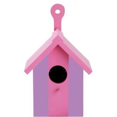 Sie erfüllen einem Vogelpaar den Traum von den eigenen vier Wänden - und freuen sich mit etwas Glück auf piepsenden Nachwuchs. Das kleine Early Bird-Nistkasten dient als Vogelhaus - aus Holz gefertigt, lackiert und einfach preisverdächtig in seinem schlichten, wunderschönen Design. An der Vorderseite lädt eine Anflugstange zum Landen ein, auf der Rückseite bietet Early Bird - neben der Vorrichtung zum Aufhängen - eine Klappe (durch Magnet gehalten), so dass Sie zum Saisonwechsel einen…