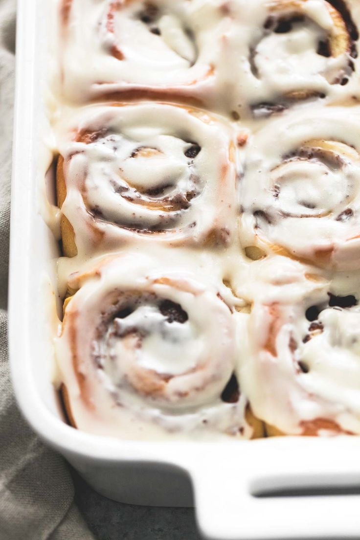 One Hour Cream Cheese Cinnamon Rolls