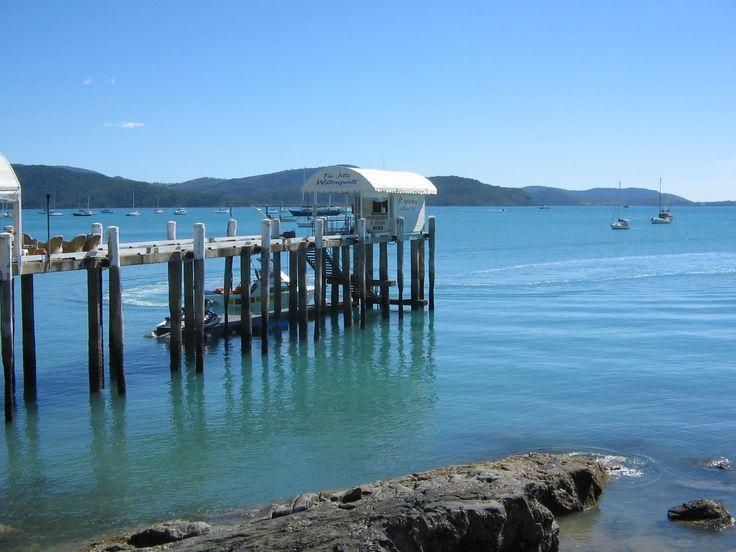Coral Sea Resort Pier, Airlie Beach, Whitsundays, AU