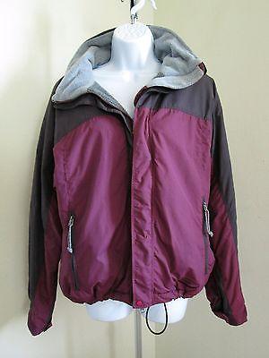PATAGONIA Ski Jacket Women's M Fleece Insulated Hooded Coat Powder Skirt