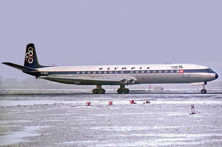 Olympic Airways De Havilland DH-106 Comet 4B [G-ARJL]