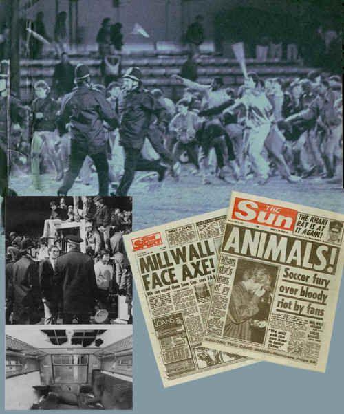 Musica e calcio con Clash & Millwall al The Den » Football a 45 giri | Football a 45 giri