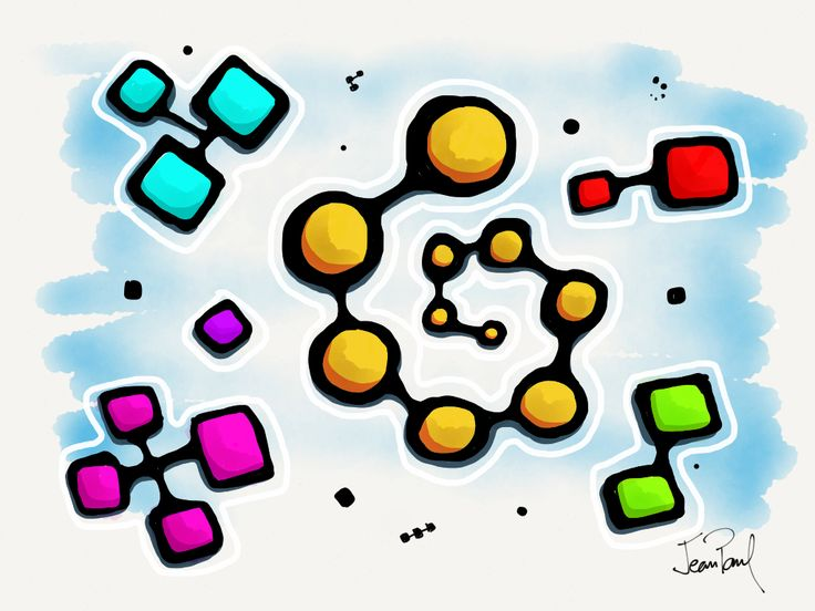 Micro Universo. Paper by FiftyThree app.