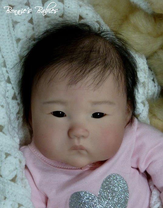 reborn prototype ping lau anming beautiful asian baby girl
