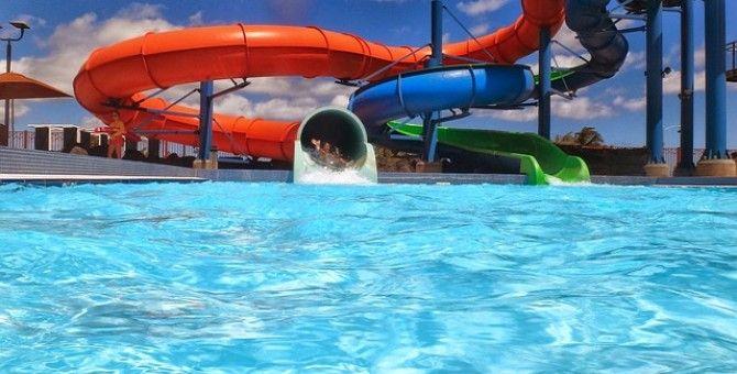 jennifer garner and husband ben affleck funny video island water park mini vacation summer