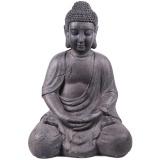 graniet boeddha zittend 45x28x32cm