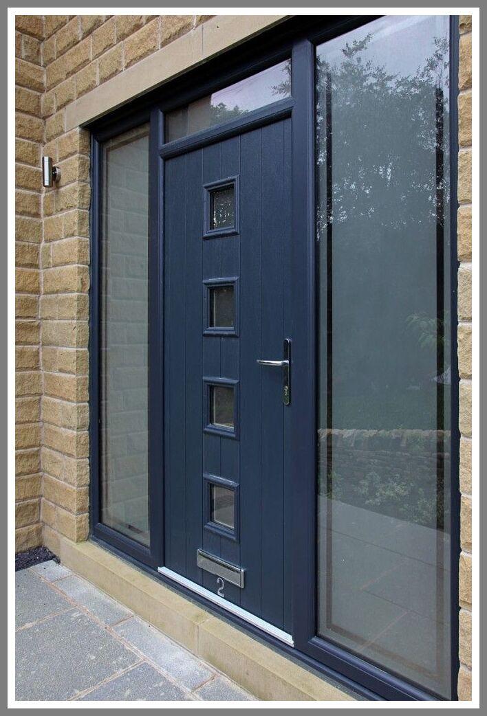 37 Reference Of Front Door With Glass Side Panels Composite Front Door Contemporary Front Doors Exterior Doors