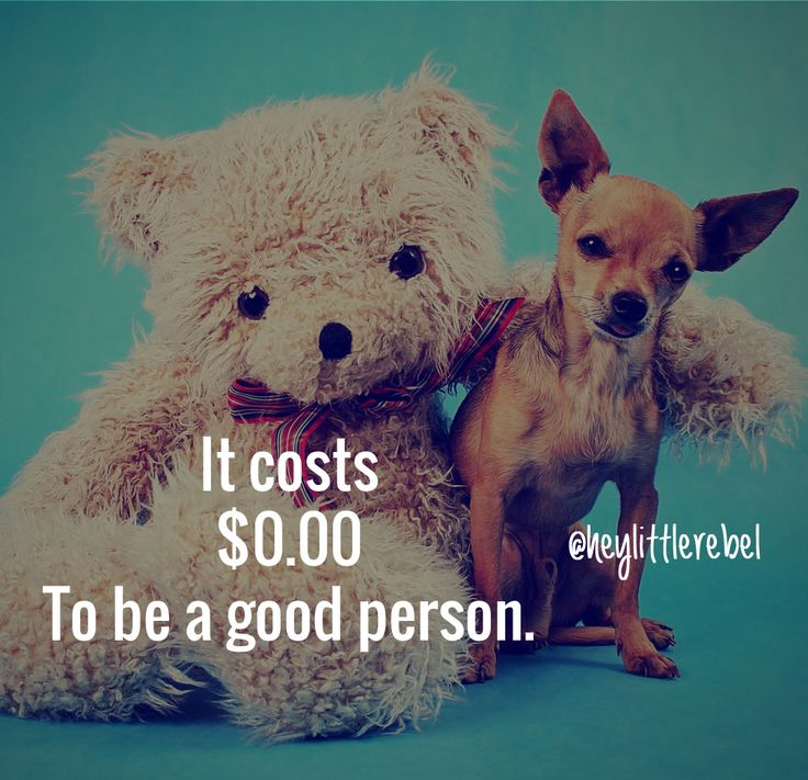 be a good person quote
