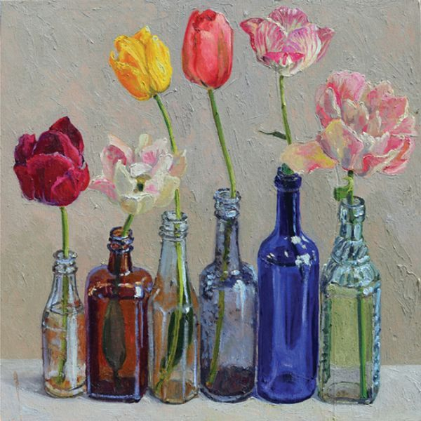 Lucy Culliton Tulips - Pictify - your social art network