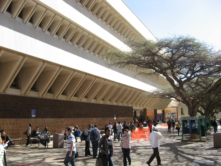 The Merensky library - University of Pretoria. I spent hours studying here.