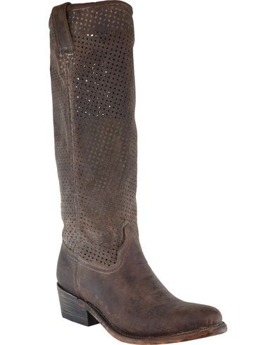 Corral Women's Cut Out Upper Boots - Round Toe - Country Outfitter