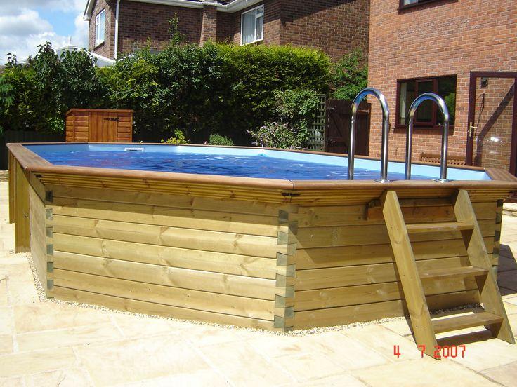 238 best above ground pool ideas images on Pinterest | Backyard ...