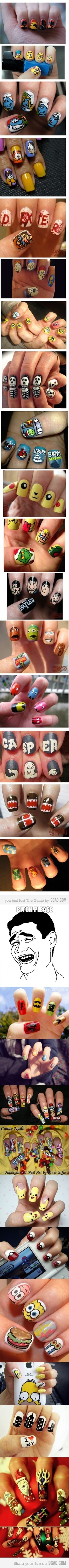 Awesome nail art is awesome!