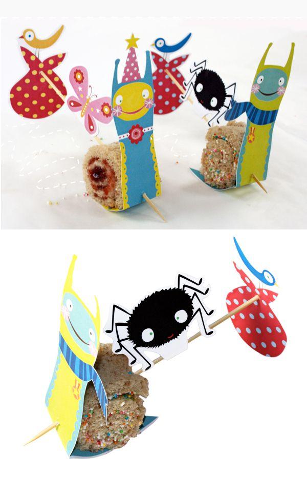 MoodKids Snailtrails printable for picnics!