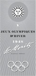 January 30, 1948 Winter Olympics open in St. Moritz, Switzerland.