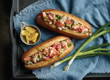 Lobster and Shrimp Rolls from Publix Aprons