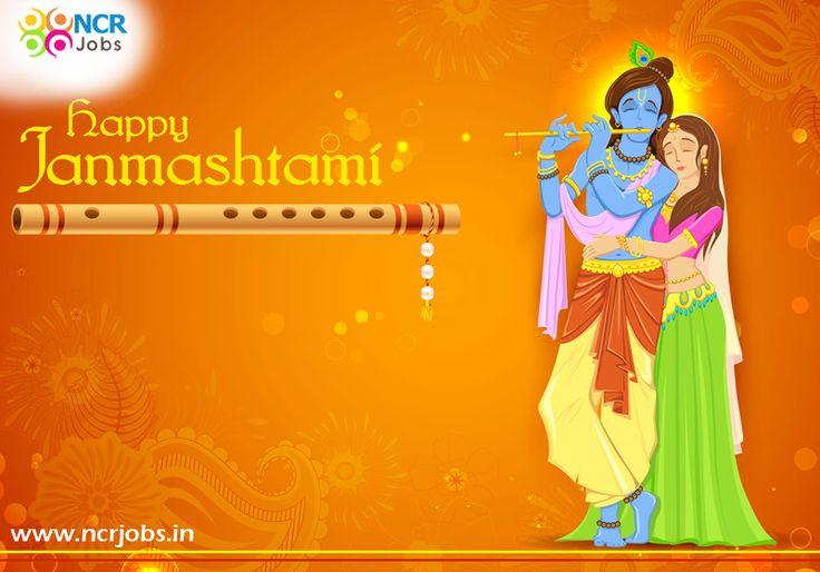 May #Krishna shows you the way in your life as He showed the way to Arjuna in the battle of Mahabharata. Happy Krishna Janmashtami !! #NCRJobs #HappyJanmashtami www.ncrjobs.in