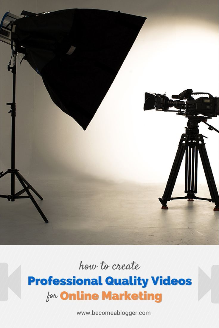 how to create professional youtube videos