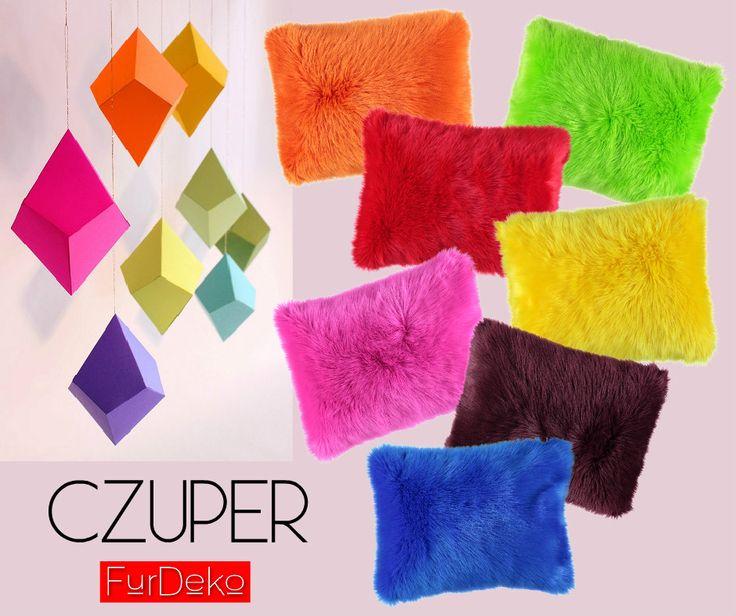 CZUPERY w kolorach tęczy to najlepszy sposób na pogodne, energetyczne i nowoczesne wnętrze :) POLECAMY --> http://bit.ly/1BEDhsf :) www.FurDeko.pl