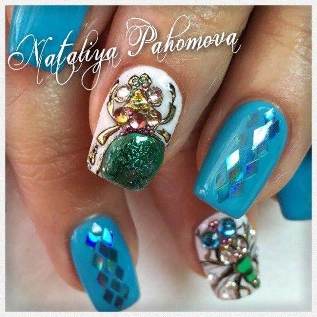 """""""Натуральные ногти,#lianailnn #lianailru #lianail #наращиваниеногтей #стразысваровски #набережныечелны #ногтидня #nails_make_us #lovemanicure…"""""""