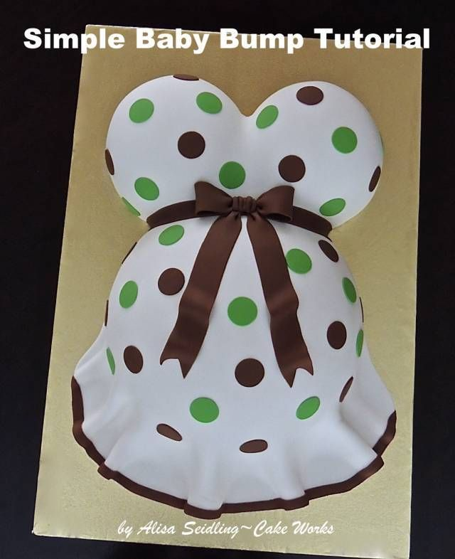 """"""""""":http://www.cakeworksbakery.com/wp-content/uploads/2015/04/Baby-Bump-Tutorial-by-Cake-Works.pdf"""