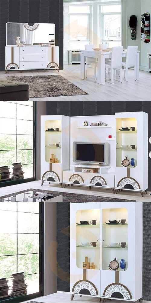 %10 İnegöl Mobilyası garantisi ve kalitesi ile modern yemek odamız sizlerle.