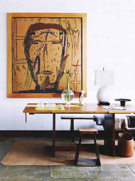 photographer Anita Calero's combined home and studio