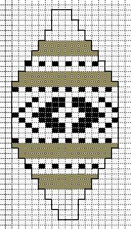 telpatroon 21 zeeuws knopje #knitted_balls