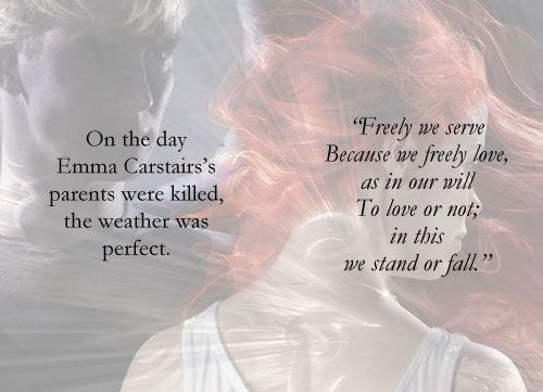 CoHF, first and last line, Non spoilery,