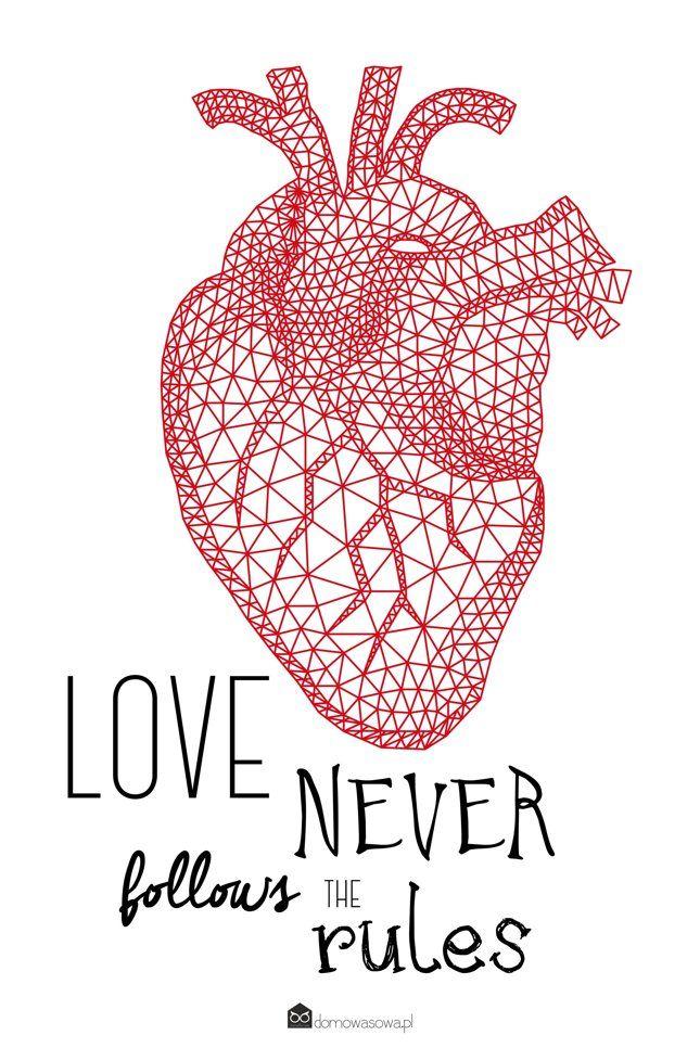 plakat heart