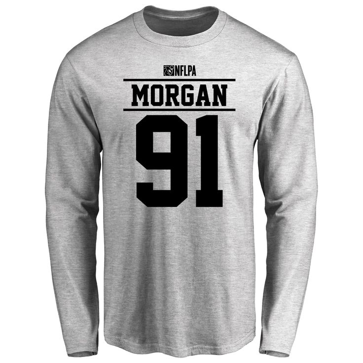 Derrick Morgan Player Issued Long Sleeve T-Shirt - Ash - $25.95