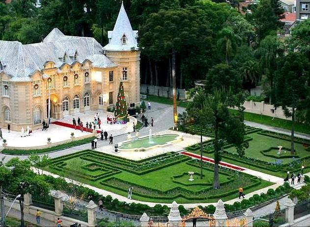 """Castelo do Batel"" (Batel's Castle) in Brazil"