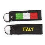 Schlüsselanhänger Italien Anhänger Fahne Flagge NEU