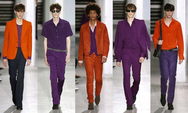 Costume National  #Fashion #moda #men #hombre  http://cuchurutu.blogspot.com.es/2014/06/la-semana-de-la-moda-masculina-en-milan.html