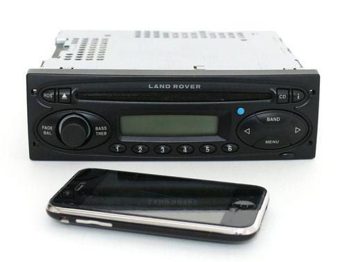 2002-2004 Land Rover Freelander Discovery AMFM Radio CD w Bluetooth XQE000170PMA