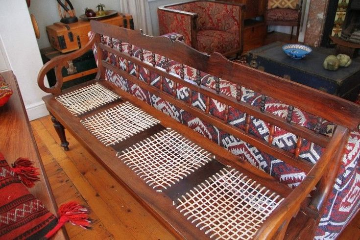 Antique stinkwood Riempie Chair with leather braiding. Prized family heirloom | Woodstock | Gumtree Classifieds South Africa | 222580575