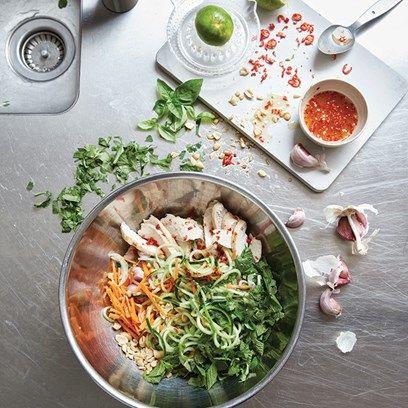 Gluten-free chicken noodle salad