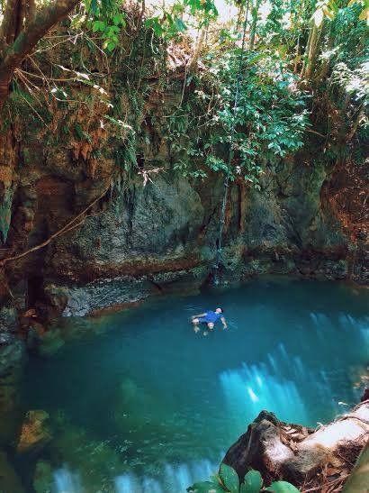 Talamban Cave Pool, Siargao Island