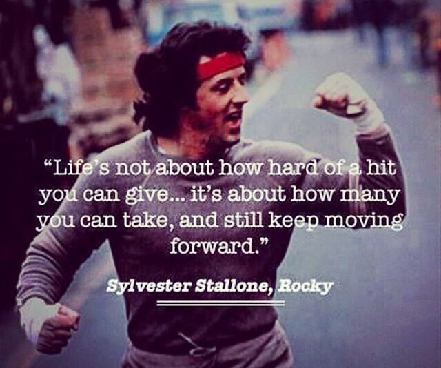 Rocky Balboa Life Is Hard Quote: 17 Best Images About Rocky Style Posters On Pinterest
