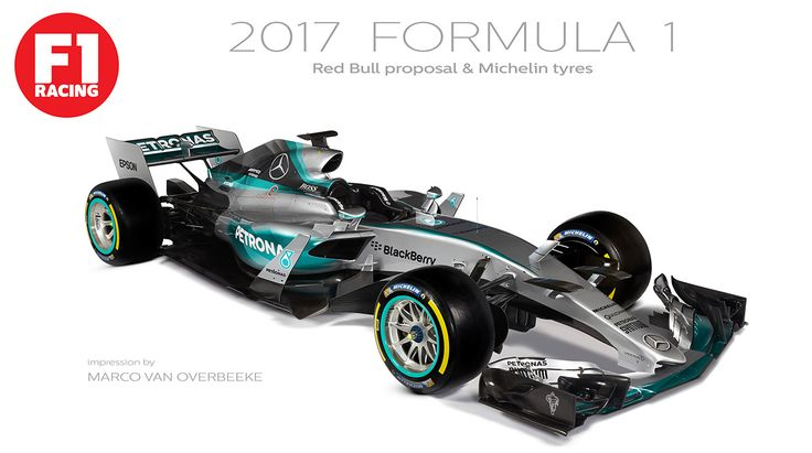 Here's What F1 Cars Could Look Like In 2017 - WTF1