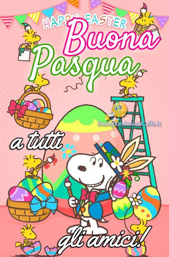 Buona Pasqua A Tutti Gli Amici Immagini