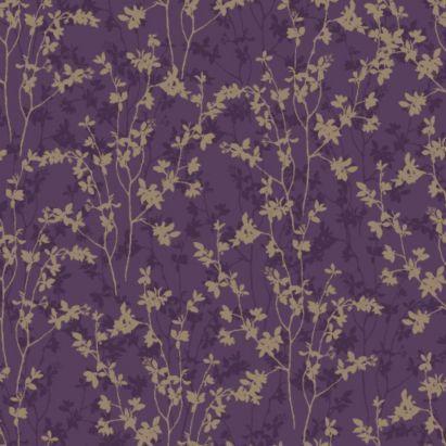 Morning Shadow Plum Wallpaper, 5011655582389 £19.98 b