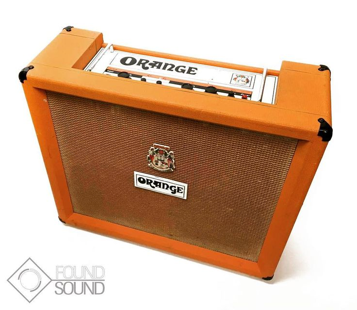 Oranges are not the only fruit but you would be forgiven for thinking otherwise in the presence of these beauties! #OrangeAmps #OR80R
