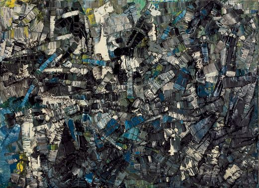 Jean Paul Riopelle: 1923 – 2002 — Daily Art Fixx - a little art, every day The texture of depth of this piece STILL resonates