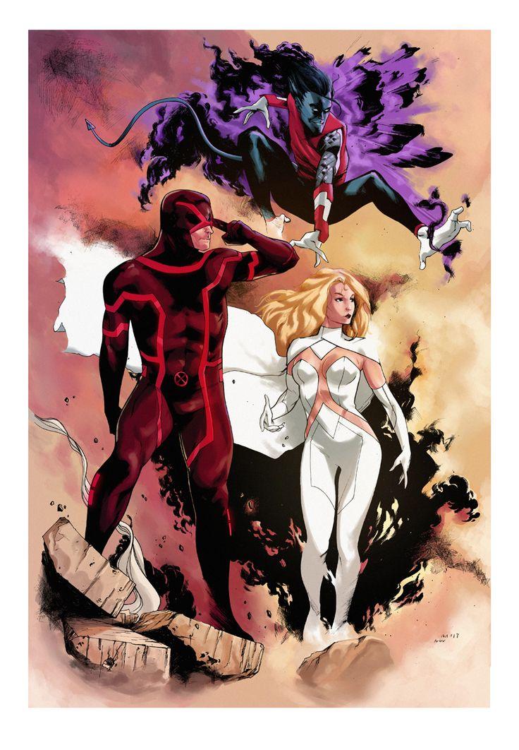 Cyclops, Emma Frost & Nightcrawler - Dima Ivanov