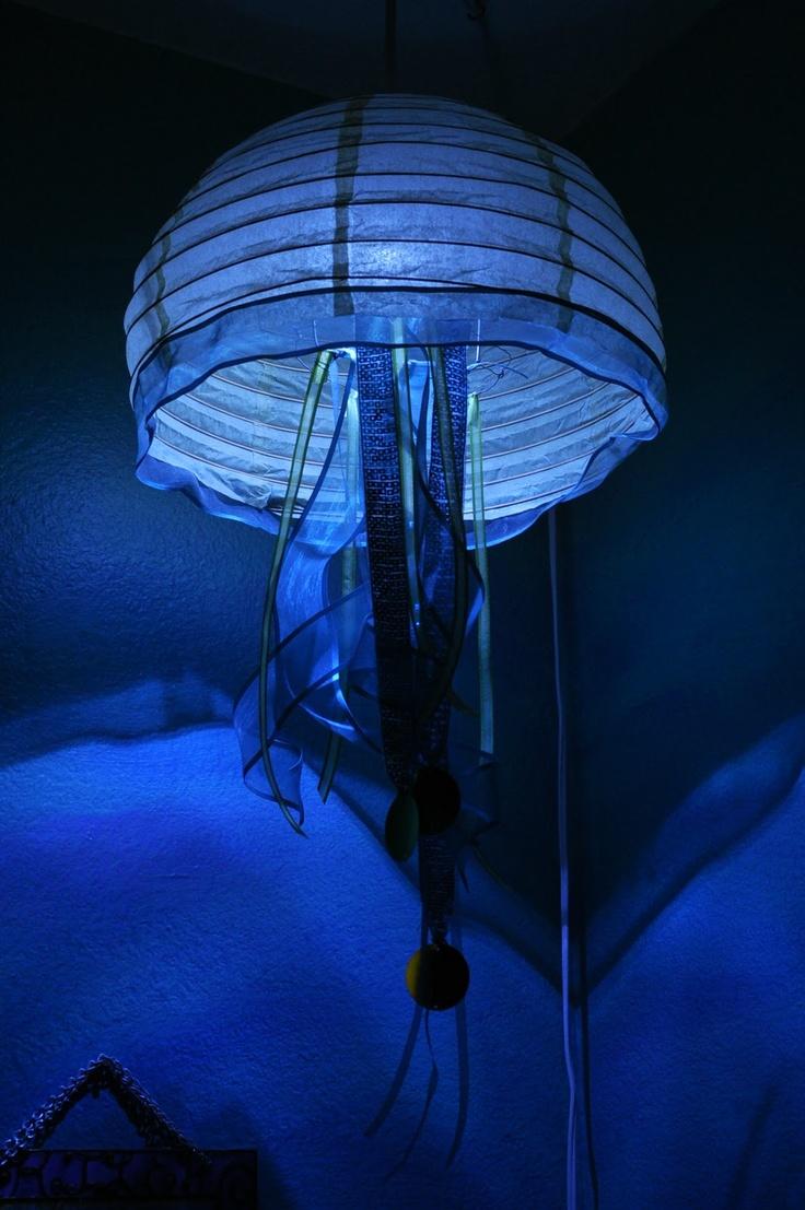 Jellyfish String Lights : 1000+ ideas about Paper Lantern Lights on Pinterest White Paper Lanterns, Hanging Paper ...