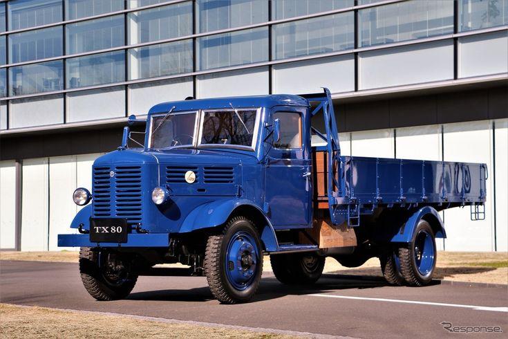 いすゞ TX80トラック(1948)《撮影 内田千鶴子》