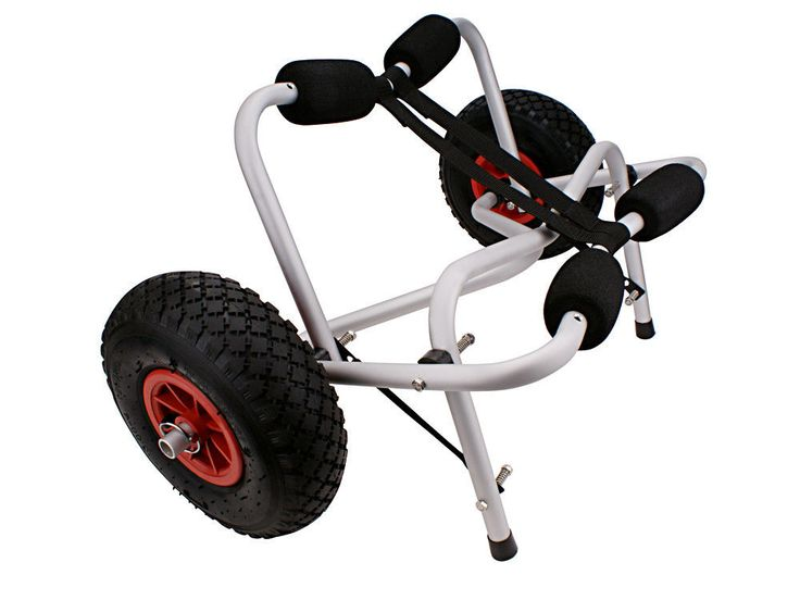 1 of 4: New Boat Kayak Canoe Carrier Dolly Trailer Tote Trolley Transport Cart Wheel